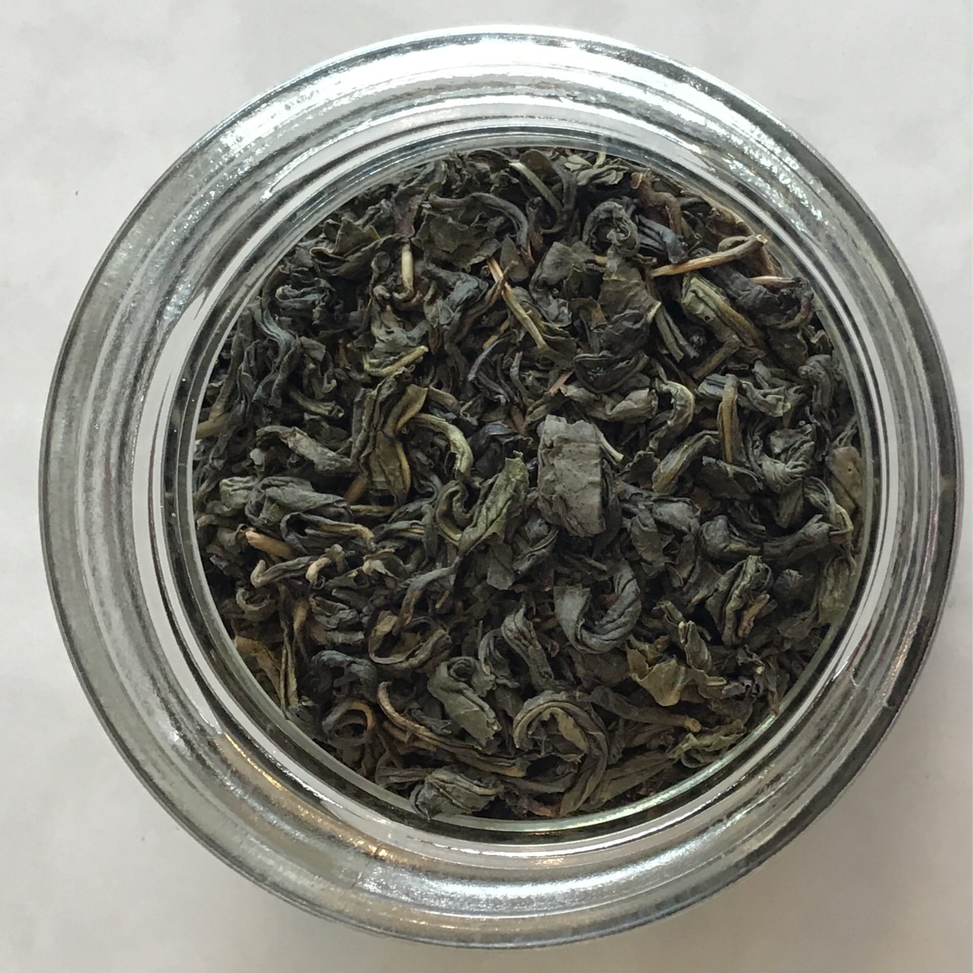 Organic loose-leaf jasmine green tea